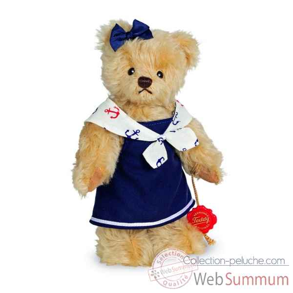 Ours en peluche de collection maike 22 cm hermann -13021 5