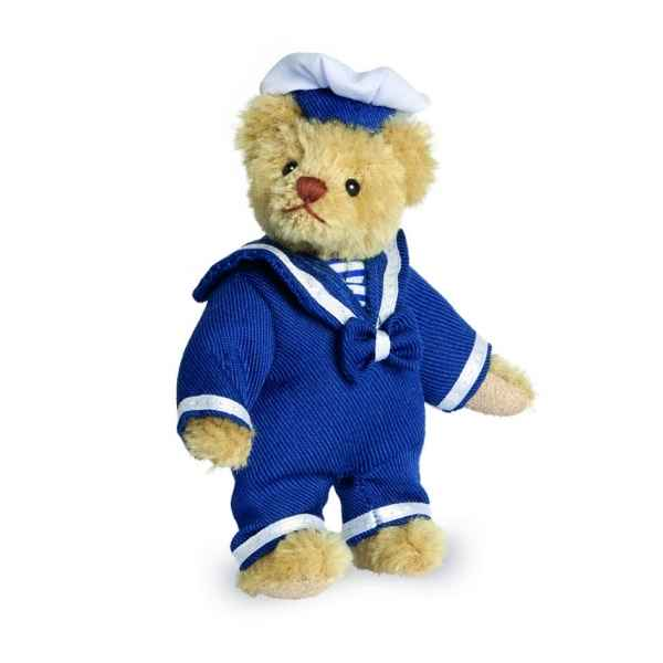 Ours en peluche de collection marin 11 cm hermann -15080 0
