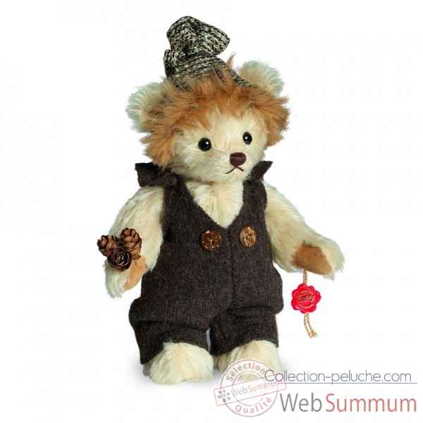 Ours en peluche de collection maxi 17 cm hermann -11701 8