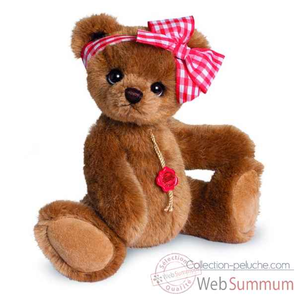 Ours en peluche de collection miss philippa 25 cm hermann -17071 6