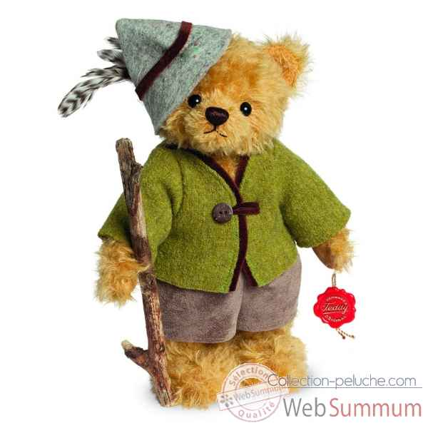 Ours en peluche de collection peter 25 cm hermann -17226 0