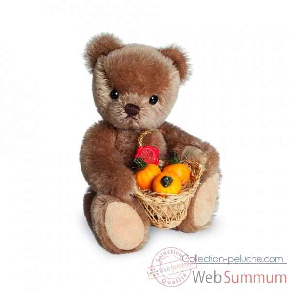 Ours en peluche de collection rudi 17 cm hermann -11702 5