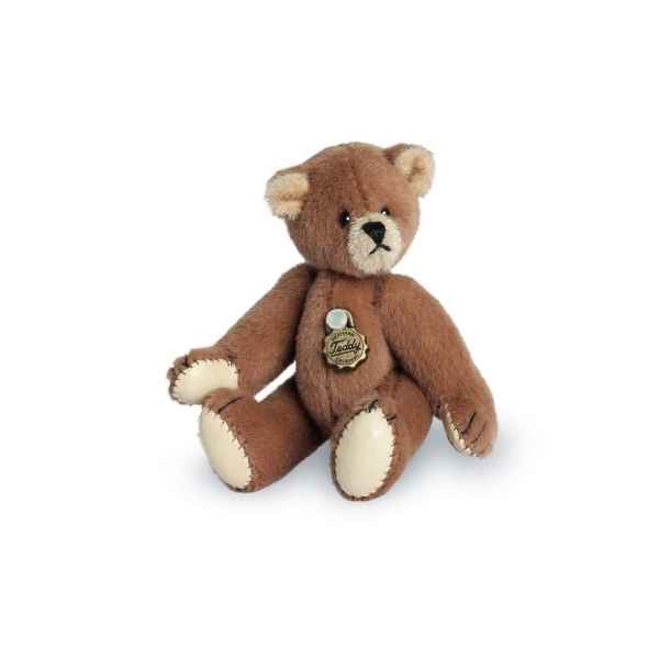 Ours en peluche de collection teddy brun 6 cm hermann -15417 4