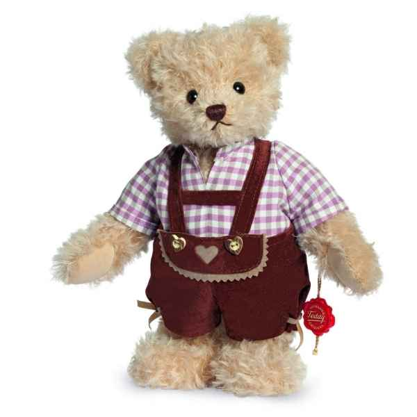 Ours en peluche de collection tomas 27 cm hermann -17267 3
