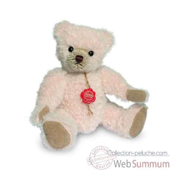 Ours teddy bear alpaca rose 19 cm Hermann -12317 0