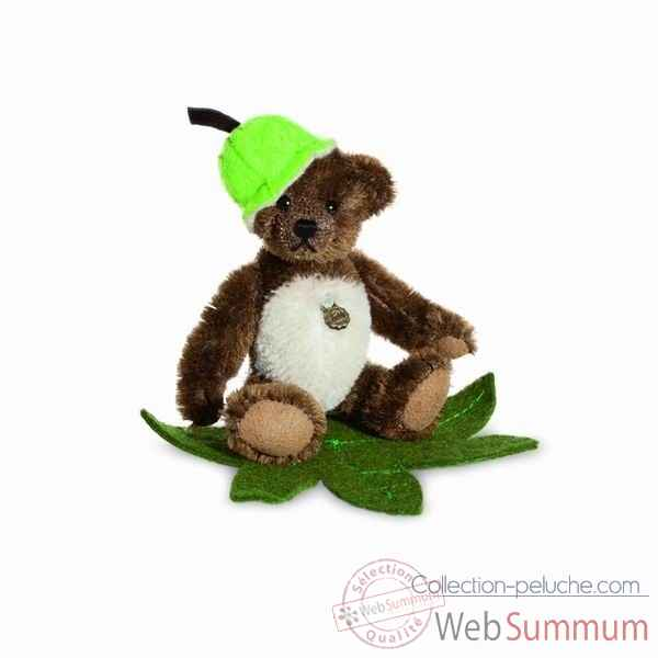 Ours teddy bear chestnut 10 cm hermann -16252 0