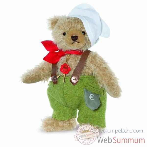 "Ours teddy bear ""deutscher michel"" 24 cm hermann -17044 0"
