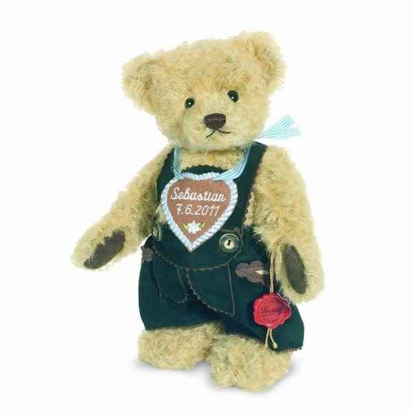 Peluche Ours Teddy bear habille Hermann Teddy original 26cm 17254 3