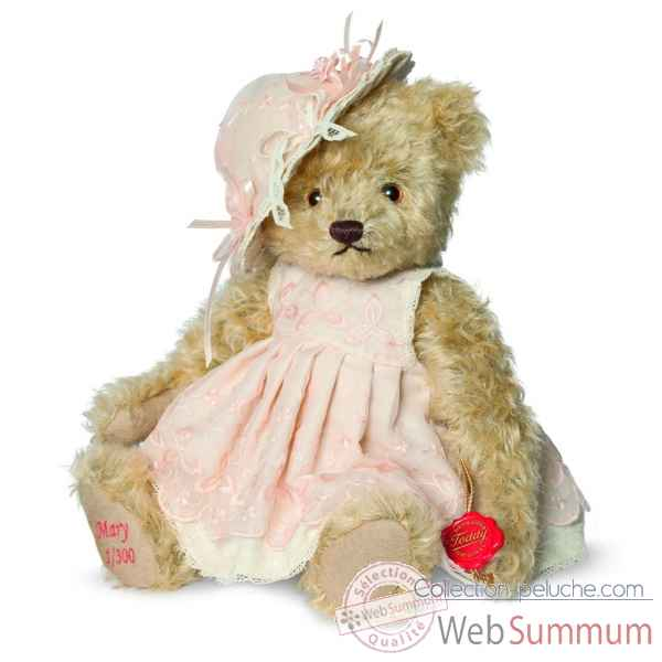 Ours teddy bear lady mary 28 cm Hermann -12145 9