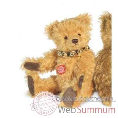 Ours teddy bear michel avec voix 34 cm peluche hermann teddy original edition limitee -16633 7