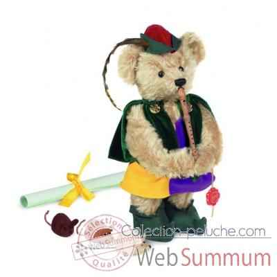 "Ours teddy bear ""pied piper of hamelin\"" 32 cm peluche hermann teddy original edition limitee -11829 9"