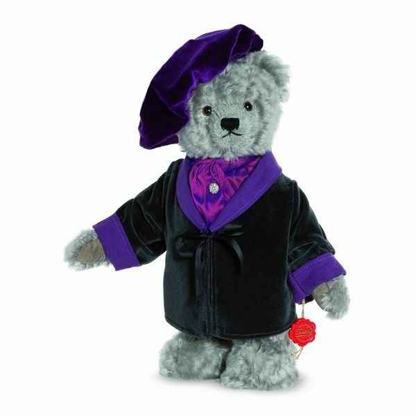 Ours teddy bear wagner 32 cm with music box hermann -15517 1