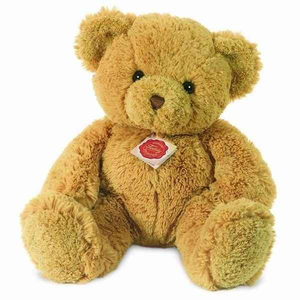 Peluche Ours Teddy dore gold Hermann Teddy collection 40cm 91163 0