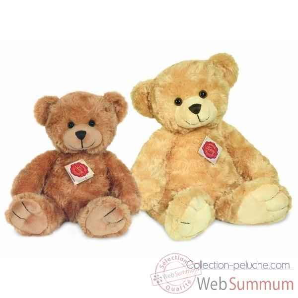 Peluche Ours Teddy marron clair Hermann Teddy collection 28cm 91156 2