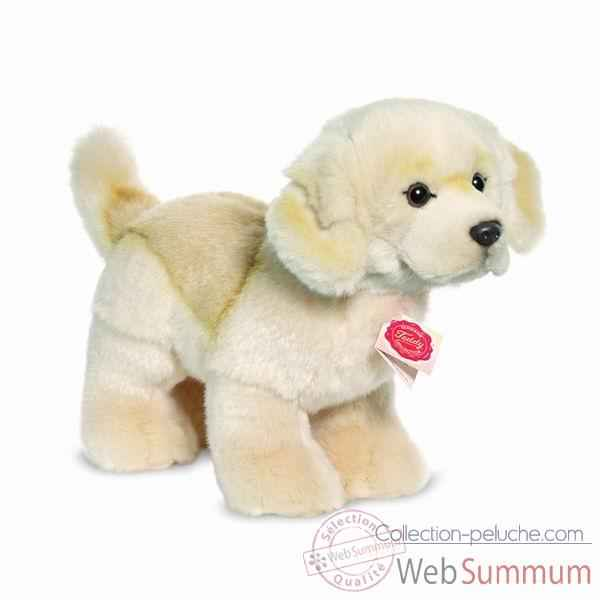 Peluche chien golden retriever debout 26 cm hermann 92767 9