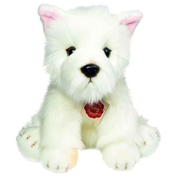 Peluche chien west highland terrier 25 cm Hermann -91936 0