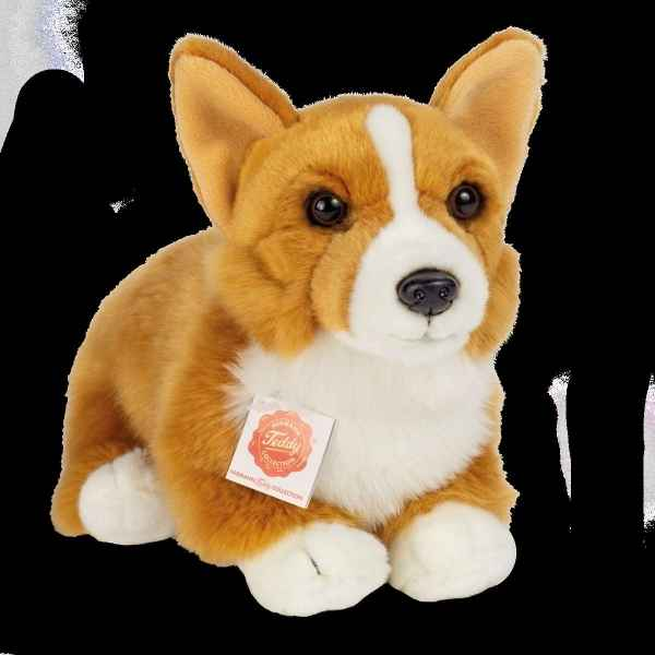 Peluche chiot Welsh Corgi Pembroke 30 cm hermann teddy collection -91947 6