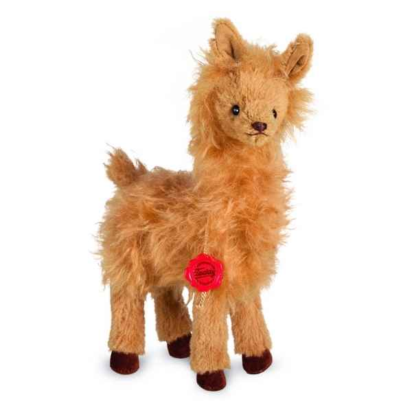 Peluche de collection alpaga 29 cm hermann -15642 0
