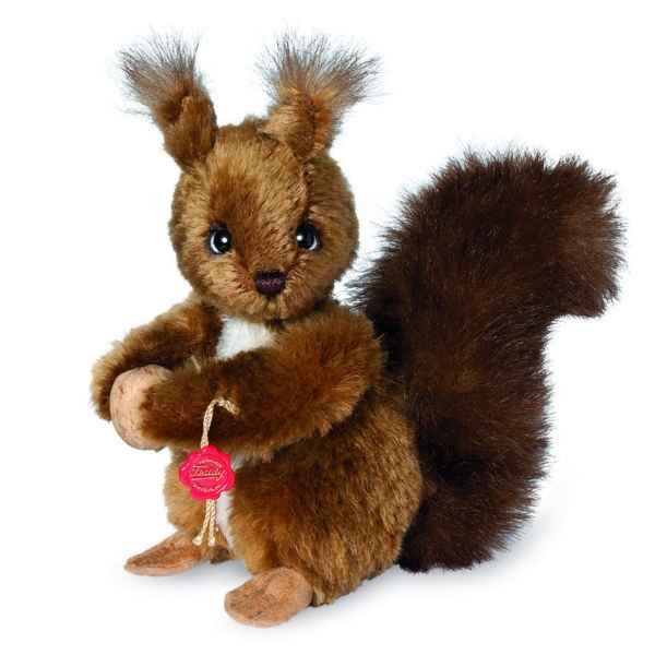 Peluche de collection ecureuil 17 cm hermann -15623 9