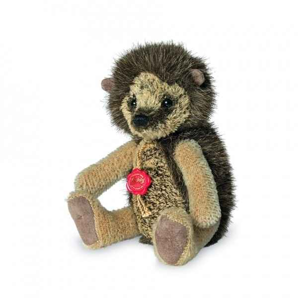 Peluche de collection herisson aufrecht 19 cm hermann -15619 2