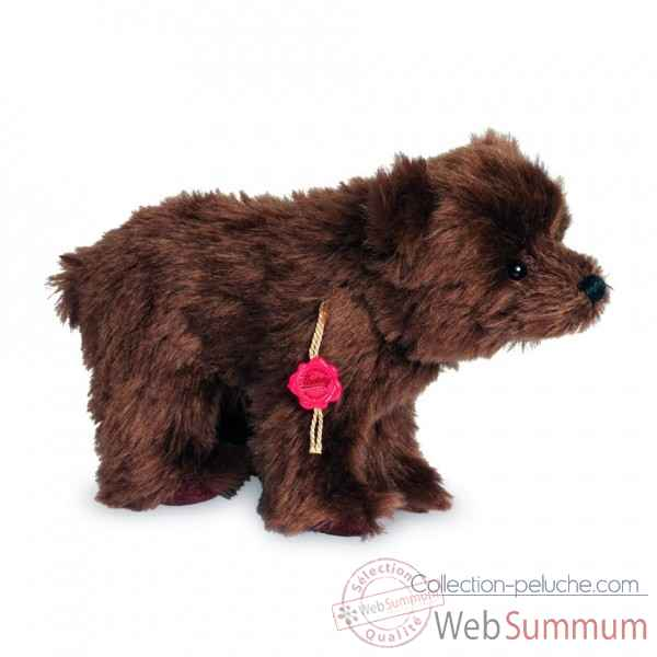 Peluche de collection ours brun 23 cm hermann -18100 2