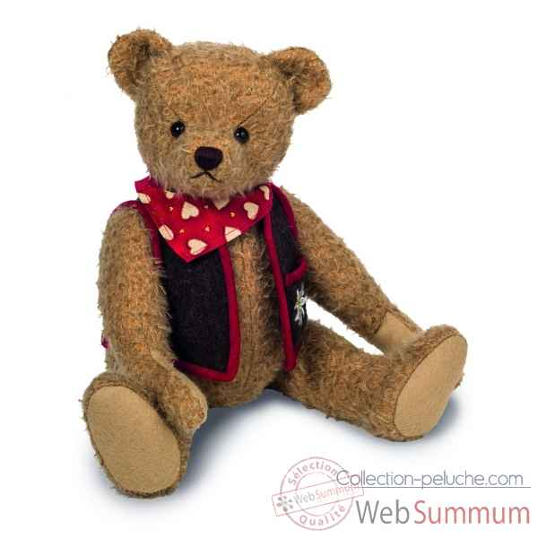 Peluche de collection ours teddy bear andre bruiteur 37 cm ed. limitee Hermann -16626 9