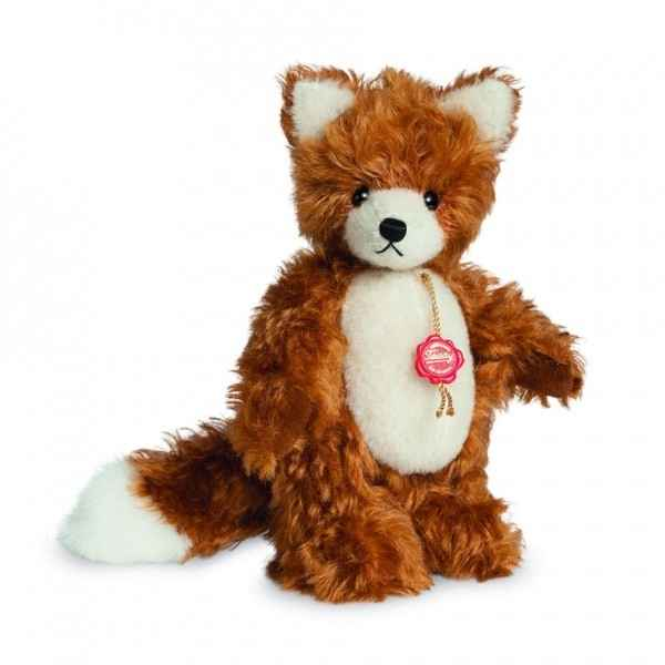 Peluche de collection renard 17 cm hermann -15617 8