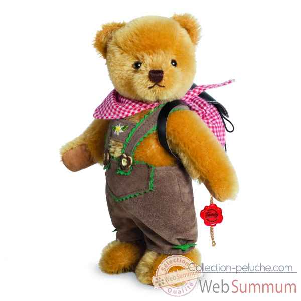Peluche de collection ours randonneur 22 cm ed. limitee Hermann -17270 3