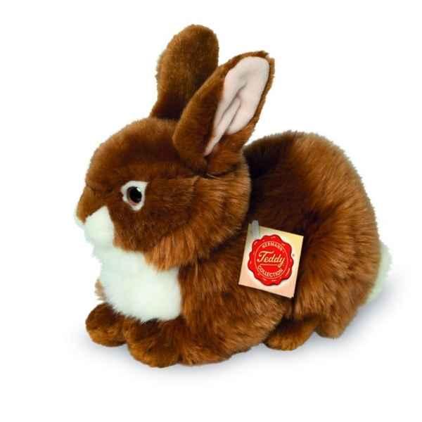 Lapin jeannot marron 18 cm les petites marie dans lapin - Peluche lapin marron ...