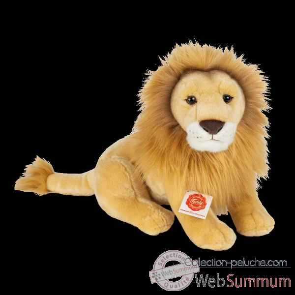 Peluche Lion assis 35 cm hermann teddy collection -90471 7
