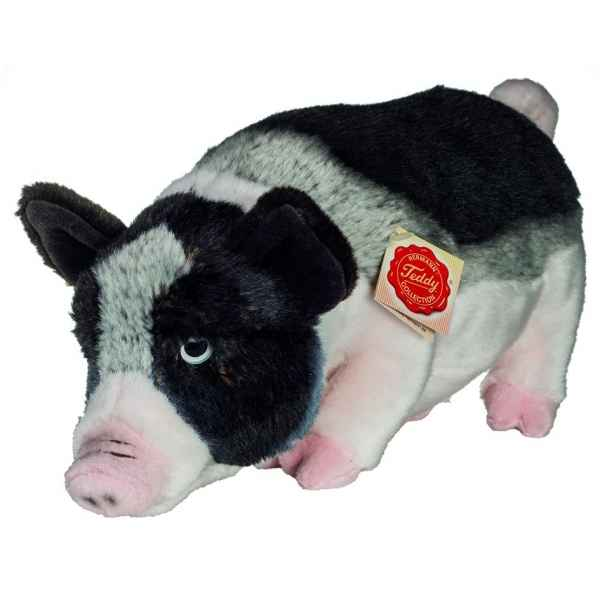 Peluche mini cochon 33 cm Hermann -93033 4