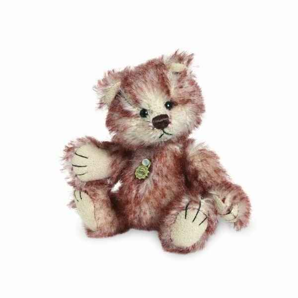 Peluche miniature ours chestnut 10 cm collection ed. limitee teddy hermann -15096 1