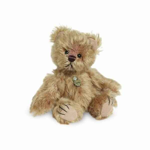 Peluche miniature ours goldie 10 cm collection teddy original hermann -15097 8