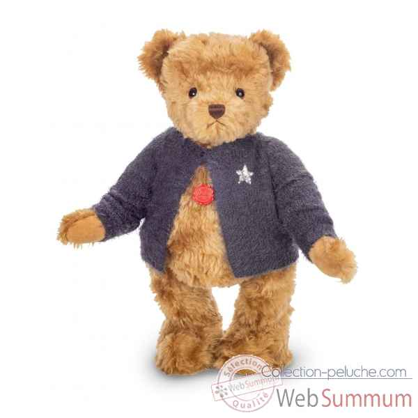 Peluche original hermann teddy ours benedikt 66 cm collection limitee 30 ex -16770 9