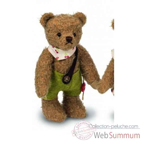 Peluche ours de collection teddy bear erich 22 cm ed. limitee Hermann -14023 8