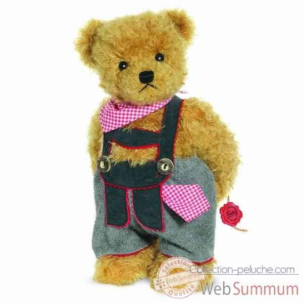 Peluche ours debout valentin 29 cm collection ed. limitee 200 ex. hermann -17257 4