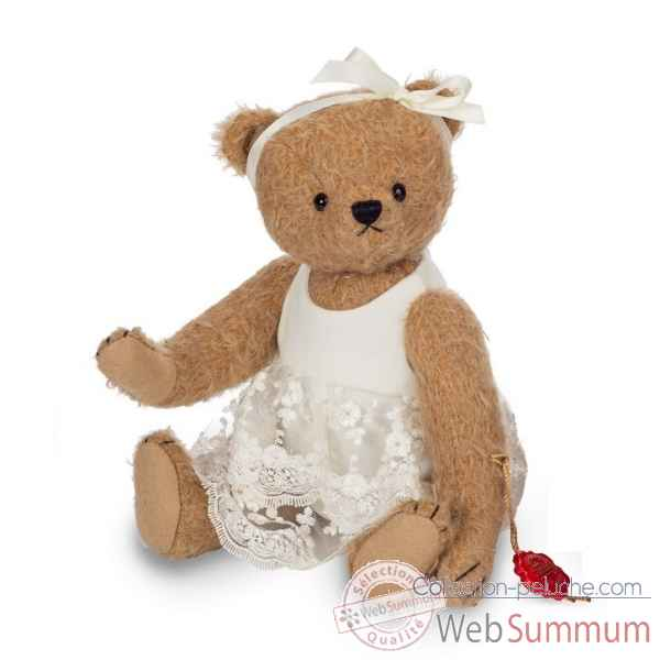 Peluche Ours teddy bear babette 28 cm hermann teddy original -11901 2