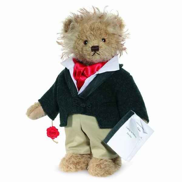 Peluche ours teddy bear beethoven 32 cm collection ed.limitee 400 ex. hermann -15519 5