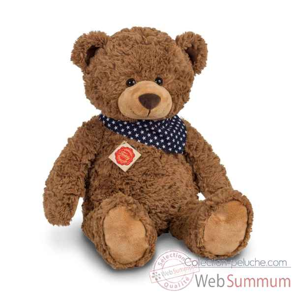Peluche Ours teddy brun 48 cm hermann teddy collection -91363 4