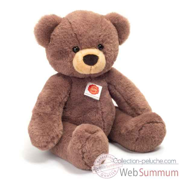 Peluche Ours teddy chocolat brun 40 cm hermann teddy collection -91365 8