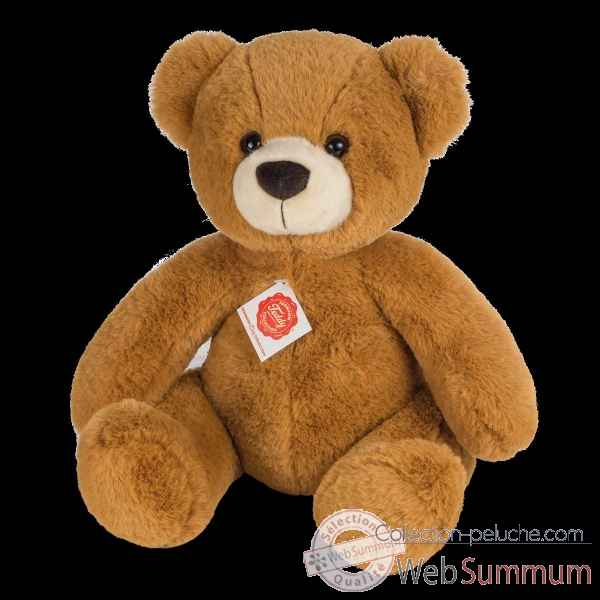 Peluche Ours teddy marron dore 40 cm hermann teddy collection -91369 6