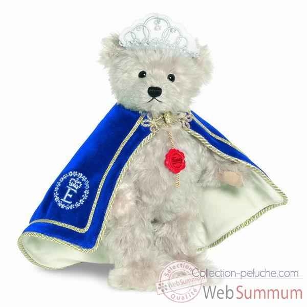 Peluche ours teddy reine elisabeth 30 cm collection ed. limitee 300 ex. hermann -17502 5
