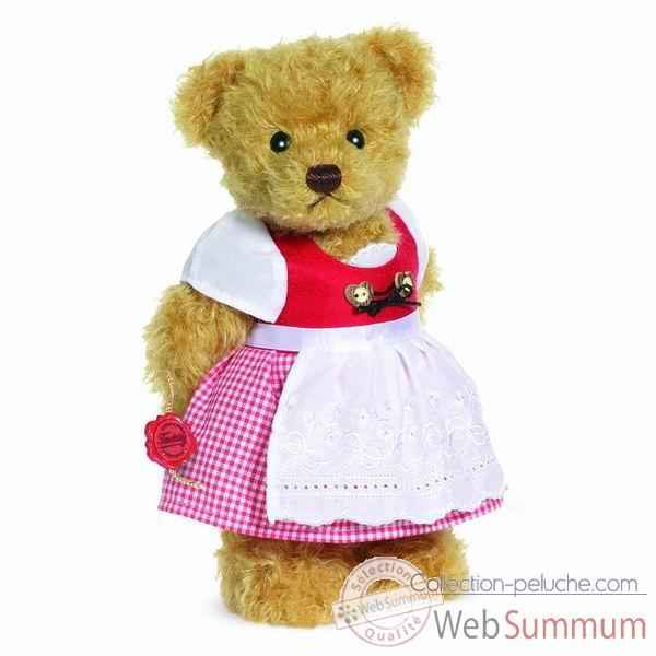Peluche ourse debout zilli 27 cm collection ed. limitee 300 ex. hermann -17256 7
