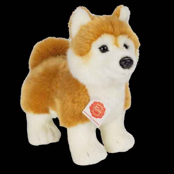 Peluche chiot Shiba inu debout 23 cm hermann teddy collection -91945 2