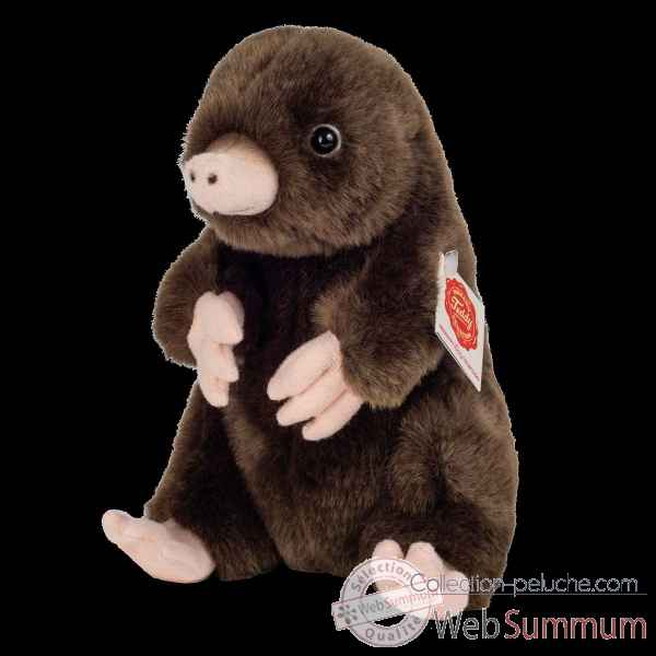 Peluche Taupe assis 19 cm hermann teddy collection -92653 5