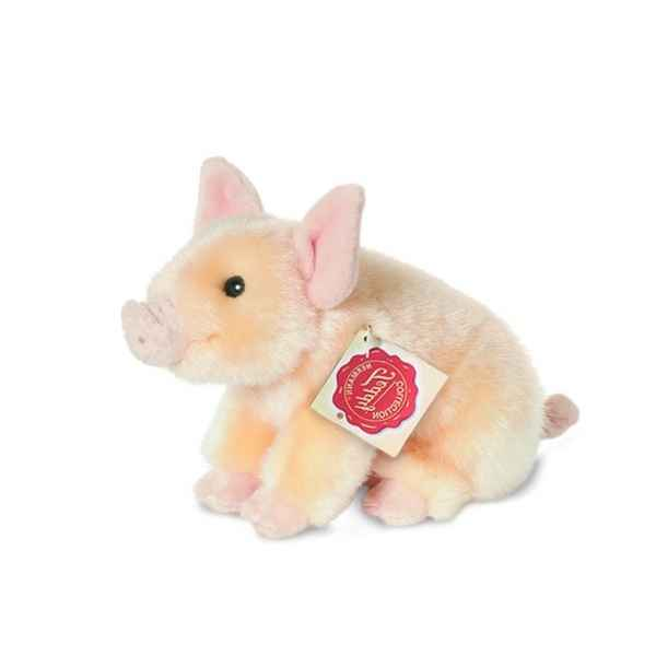 Peluche Cochon porcelet Hermann Teddy collection 18cm 93018 1