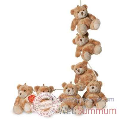 Teddies golden brown on cord Hermann -91102 9