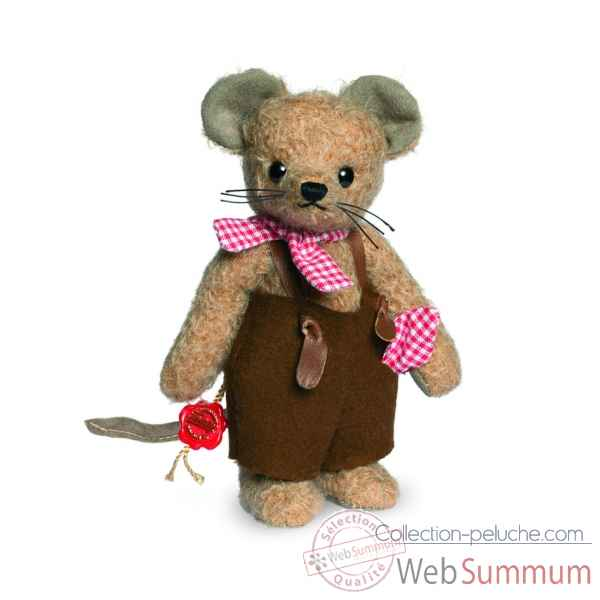 Teddy bear papa souris - mohair 17 cm Hermann -17003 7