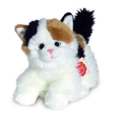 Peluche Hermann Teddy peluche chat assis 23 cm -90668 1