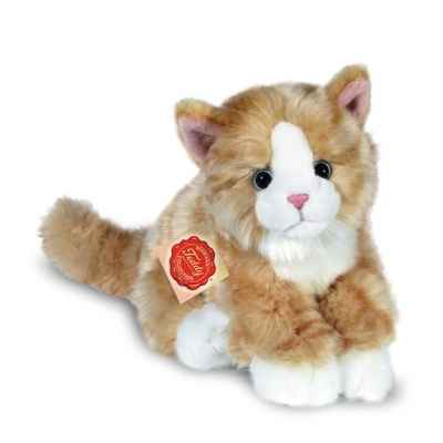Peluche Hermann Teddy peluche chat assis dore 24 cm -90669 8